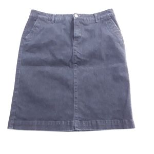 Sonoma Life + Style Denim Pencil Skirt Size 10